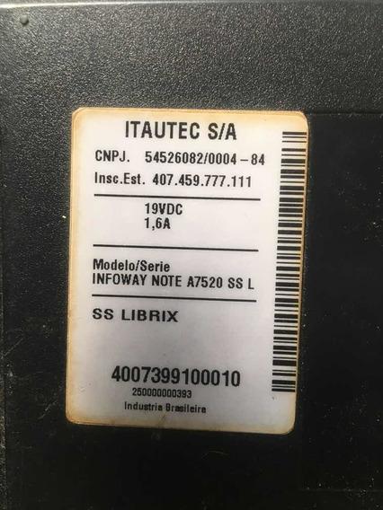 Base Do Teclado Do Itautec Infoway Note A7520 Ss L
