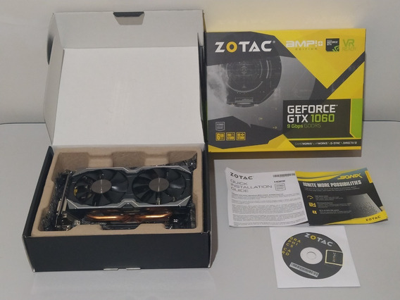 Geforce Gtx 1060 Zotac Amp 6gb