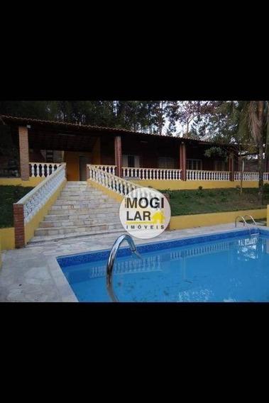 Chácara Com 3 Dormitórios À Venda, 2020 M² Por R$ 350.000,00 - Chácaras Guanabara - Mogi Das Cruzes/sp - Ch0003