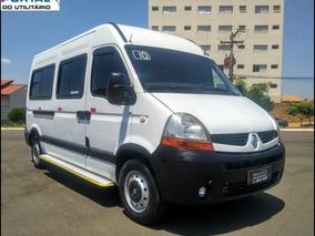 Master Minibus - 2010 - Branca, 16 Lug, Completa! Super Nova