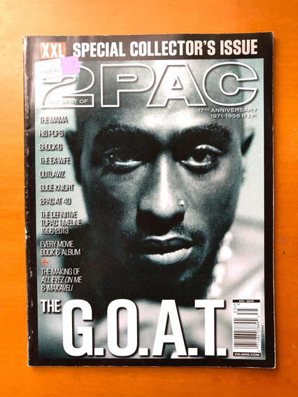 Revista Xxl 2pac 17th Anniversary