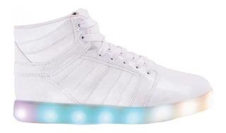 Zapatillas Botita Footy Luz Led Hologram Fxl159 (0159)