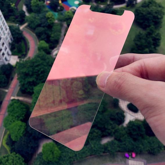 Protetor Tela Filme Vidro Temperado Para iPhone X, Vermelho