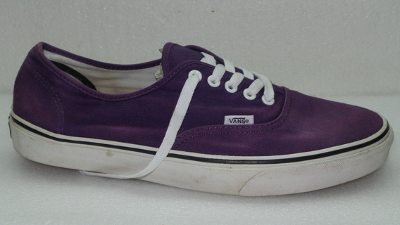 Zapatillas Vans Talle Us12- Arg45.5 Lila Usadas All Shoes