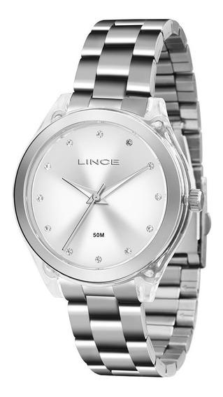 Relógio Lince Feminino Com Pedras