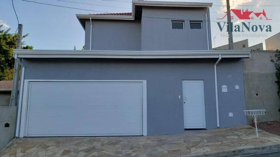 Sobrado Com 3 Dormitórios À Venda, 300 M² Por R$ 780.000 - Jardim Bela Vista - Indaiatuba/sp - So0024