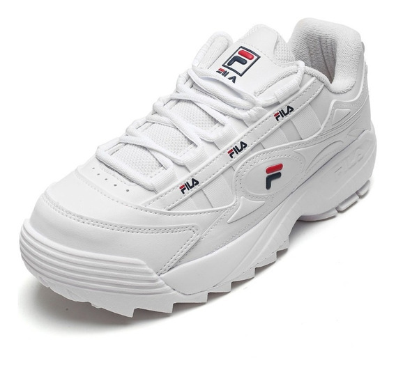 Tênis Fila Feminino Chunky D-formation Dad Sneaker Original