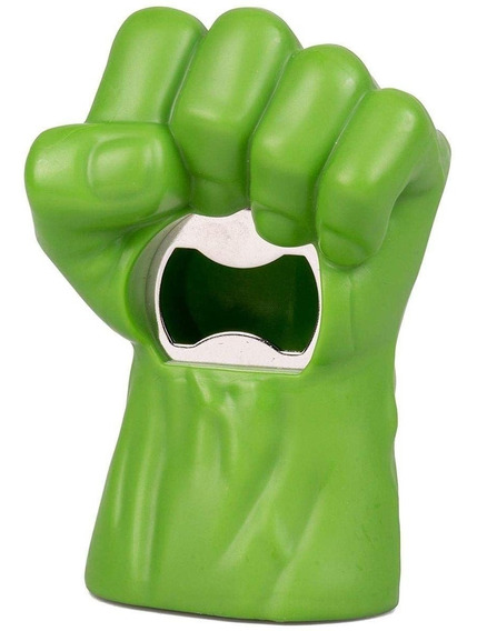 Avengers Destapador Iron Man Hulk Thor Thanos Cerveza Mano