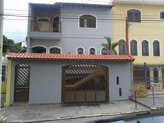 Sobrado Residencial À Venda, Vila Valparaíso, Santo André - So0966. - So0966