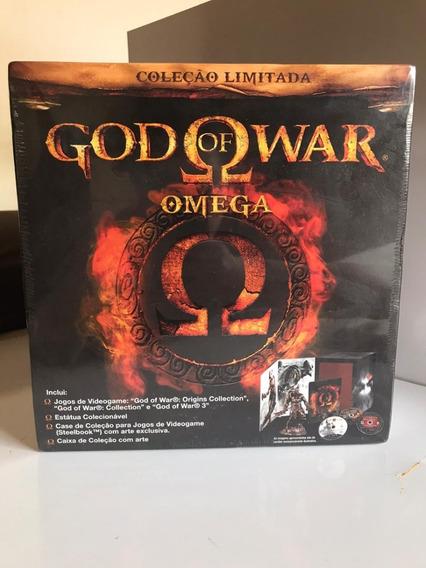 God Of War Omega Collection Ps3 - Novo E Lacrado