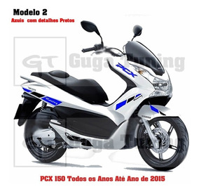 Adesivo Racing Scooter Pcx 150 Tds Os Anos
