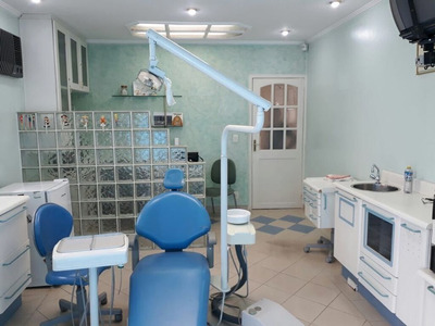Sala De Consultório Dentário Equipado - Mi70629