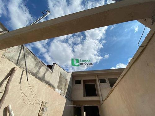 Imagem 1 de 7 de Sobrado Com 2 Dormitórios À Venda, 90 M² Por R$ 500.000,00 - Limão - São Paulo/sp - So0506