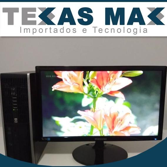 Computador Hp Compaq 4gb Core I5+monitor 17+teclado +mouse