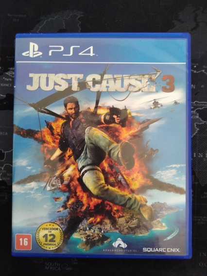 Just Cause 3 Ps4 Mídia Física