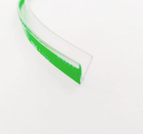 Perfil Silicone P/ Fechamento Vidro De Sacada 8x11mm-11m Vhb