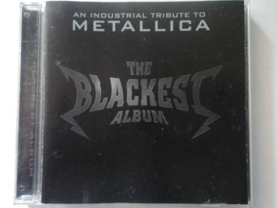 Cd-tributo Ao Metallica-the Blackest Album-industrial:rock