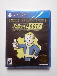 Fallout 4 Goty Juego Ps4 Nuevo Y Sellado.
