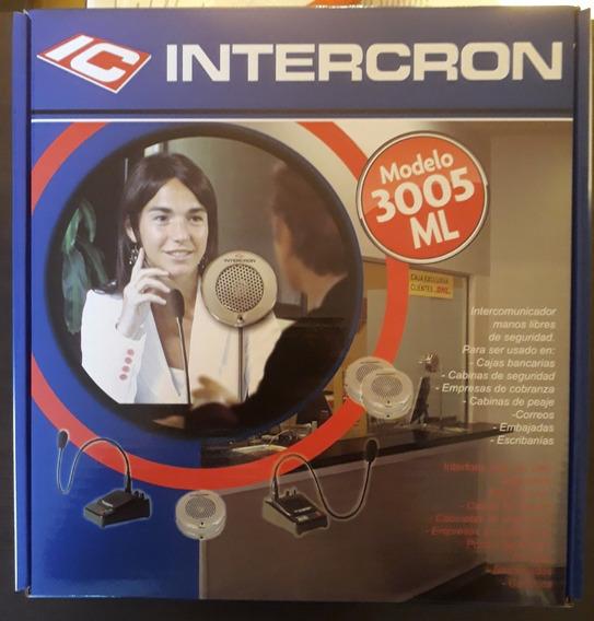 Intercomunicador Intercron Modelo 3005 Ml - Oferton!!!