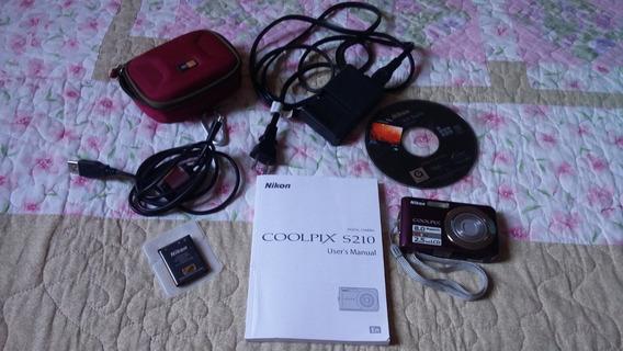 Câmera Digital Coolpix Nikkon S210