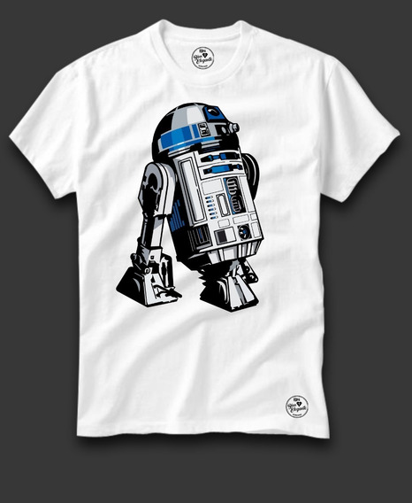 Playera Bien Elegante Star Wars R2d2