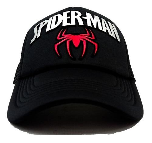 Gorra Camionera Malla Spiderman
