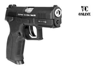 Pistola De Pressão Gbb Blowback Co2 Wingun Cz300 W129 À Gás