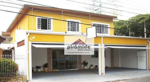 Casa Com 4 Dormitórios À Venda, 450 M² Por R$ 3.050.000,00 - Vila Betânia - São José Dos Campos/sp - Ca2732