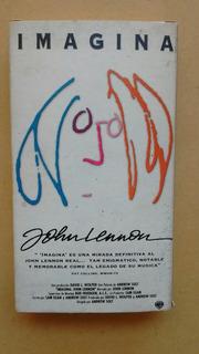 Imagine. John Lennon. Vhs.