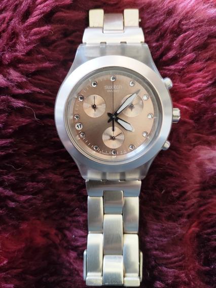 Relógio Unissex Swatch Prata