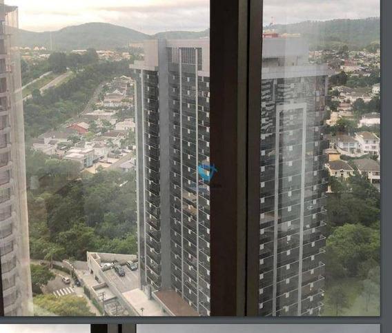 Sala Para Alugar, 54 M² Por R$ 1.600,00/mês - Empresarial 18 Do Forte - Barueri/sp - Sa0460