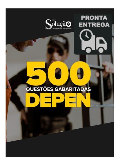 Apostila Depen Caderno 500 Questões Gabaritadas Livro