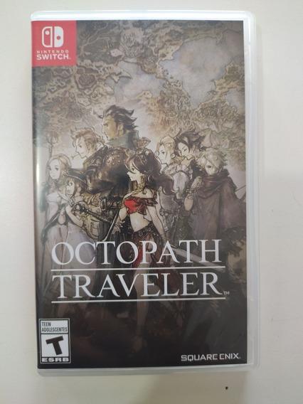 Jogo Octopath Traveler Switch Semi Novo