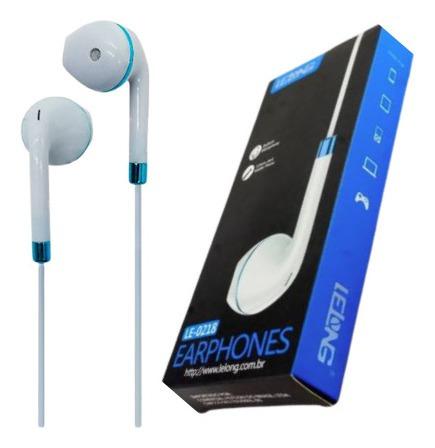 Fone De Ouvido Com Microfone Para Celular P2 P3 Branco