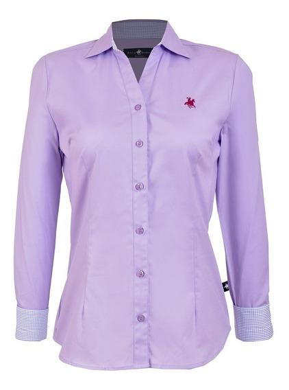 Camisa Manga Larga - Dama