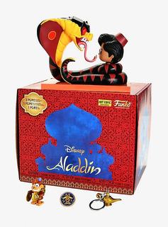 Funko Pop Aladdin Box Eclusiva Hot Topic