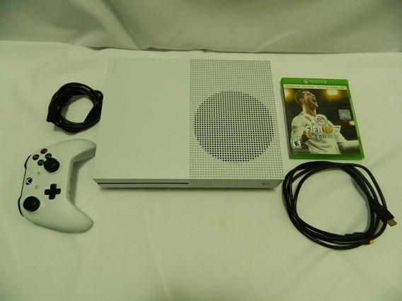 Xbox One S Hd 500gb - Fifa 18 - Funcionando Perfeitamente