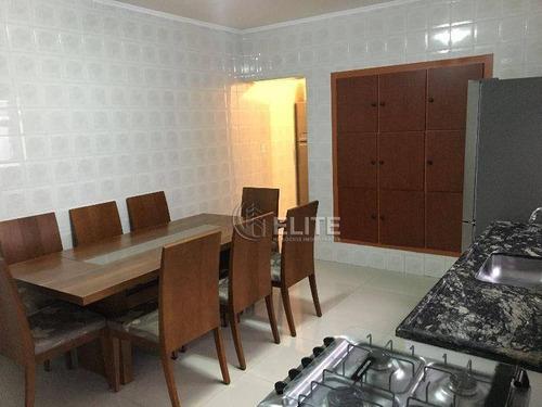 Sobrado Com 6 Dormitórios À Venda, 360 M² Por R$ 899.000,00 - Vila Assunção - Santo André/sp - So2423