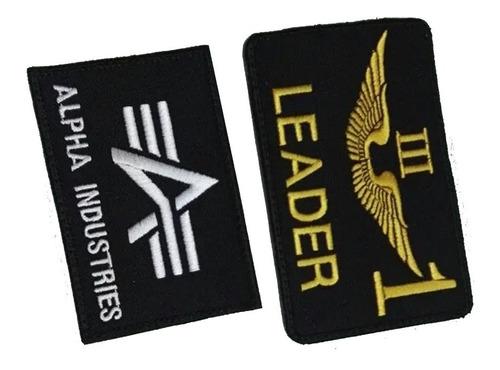 Tarjetero Leader Ó Alpha Insdutries Con Velcro Para Chaqueta