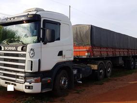Scania 124 G400 2003 + Carreta 2001