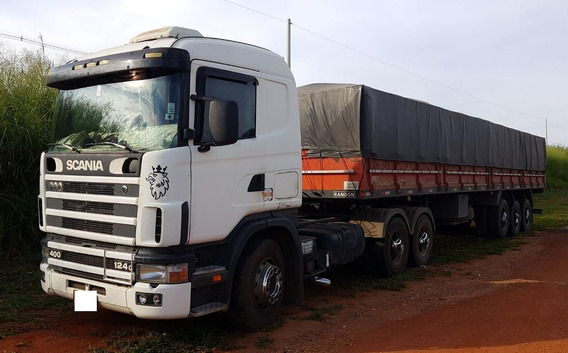 Scania 124 G400 2003 + Carreta 2001