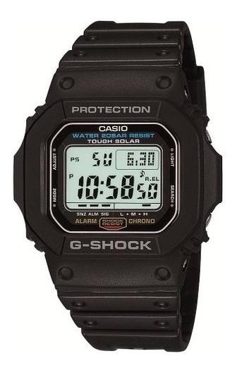 Relógio Casio G Shock G 5600e-1dr Touch Solar