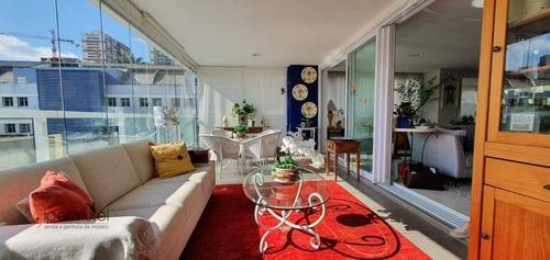 Imagem 1 de 22 de Lindíssimo Apartamento Com 4 Suítes À Venda, 225 M² - Brooklin - São Paulo/sp - Ap2043