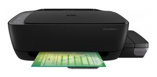 Impresora a color multifunción HP Ink Tank Wireless 410 inalámbrica 110V/220V negra