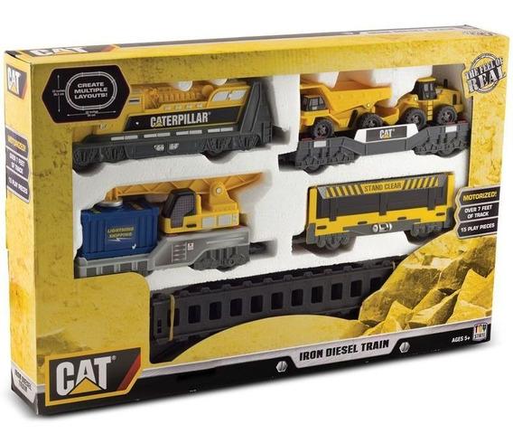Brinquedos Meninos Locomotiva Caterpillar Cat Diesel Train