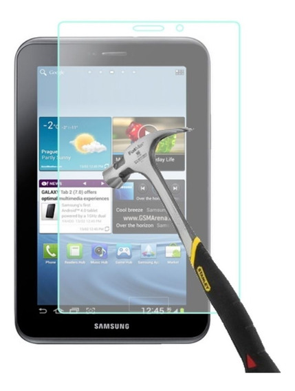 Película De Vidro Tablet Samsung Galaxy Tab 2 7 P3100 P6200