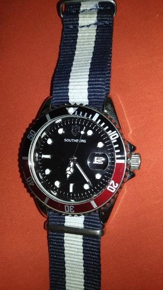 Relógio Pepsi Pulseira Em Nylon Nato - Leia Todo O Anúncio !