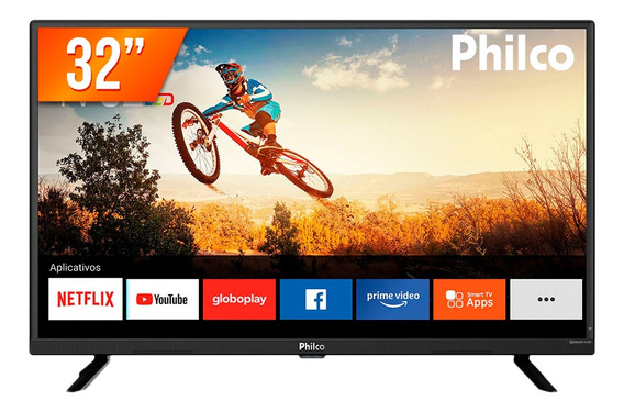 Smart Tv Led 32 Hd Philco Pvt32g52s 2 Hdmi Wi-fi E Netflix