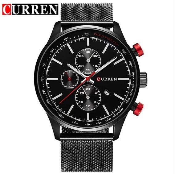 Relógio Masculino Curren Quartzo Original Barato!!!!!!!!!!