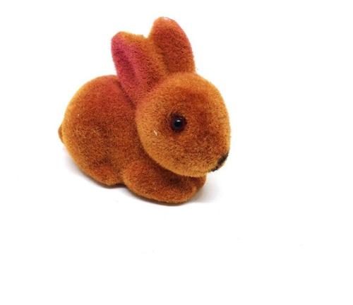 Conejo Conejito Mini Animales Bosque Felpa Torta Caketopper